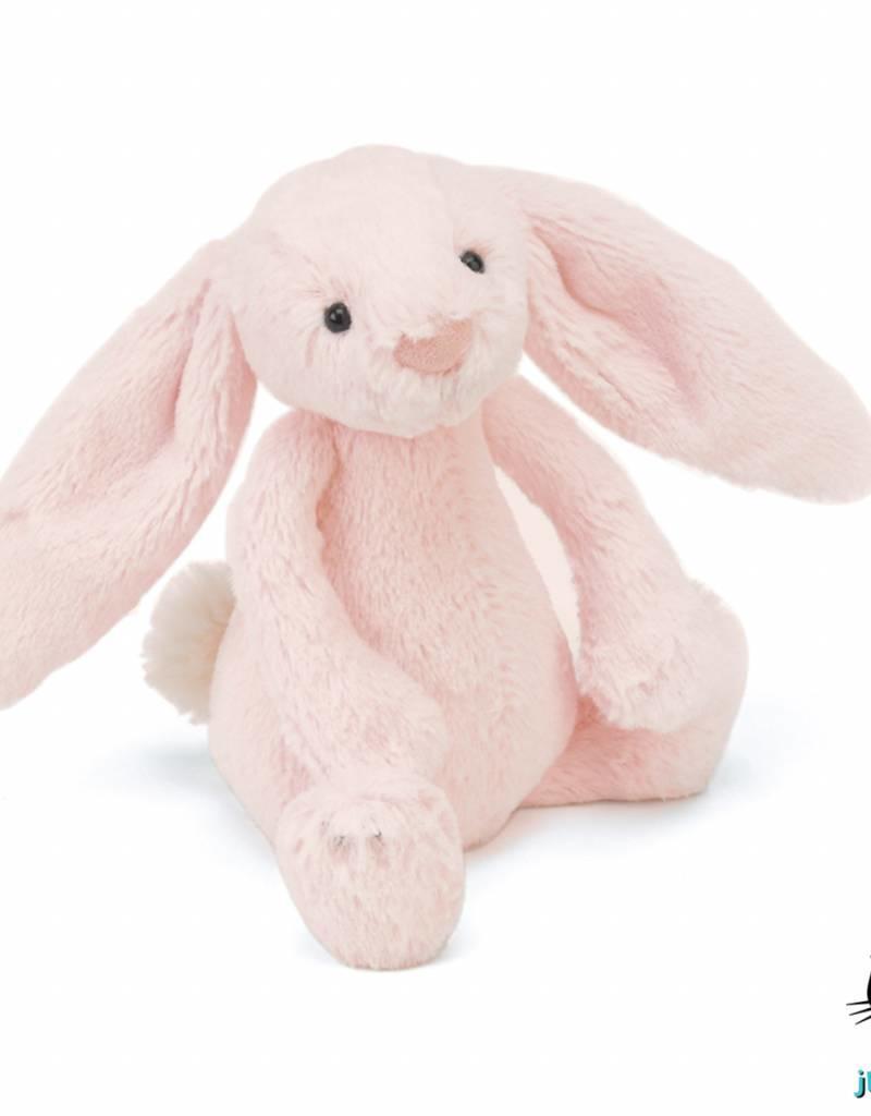 Jellycat Jellycat Bashful Bunny Pink Rattle 18cm