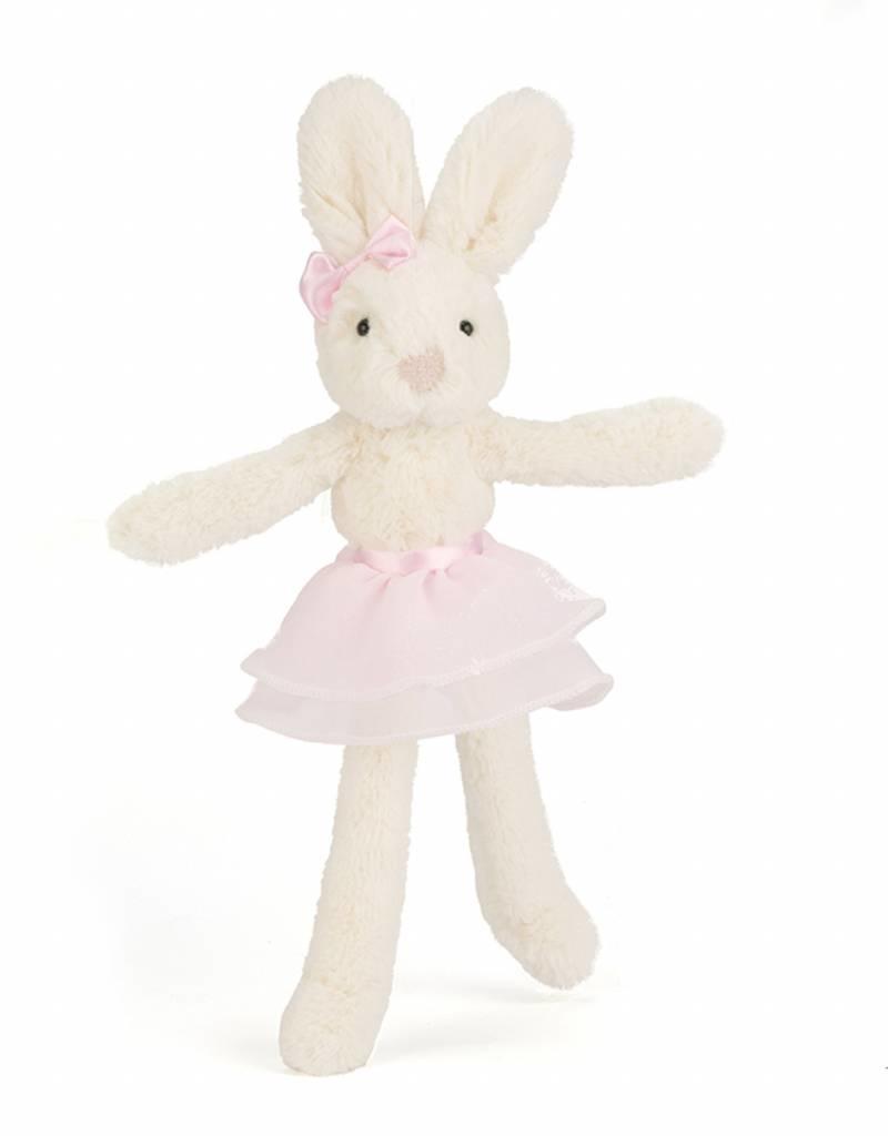 Jellycat Jellycat Tutu Lulu Cream and Pink Bunny 23cm