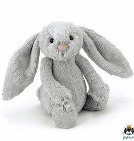 Jellycat Jellycat Bashful Bunny Silver 18cm