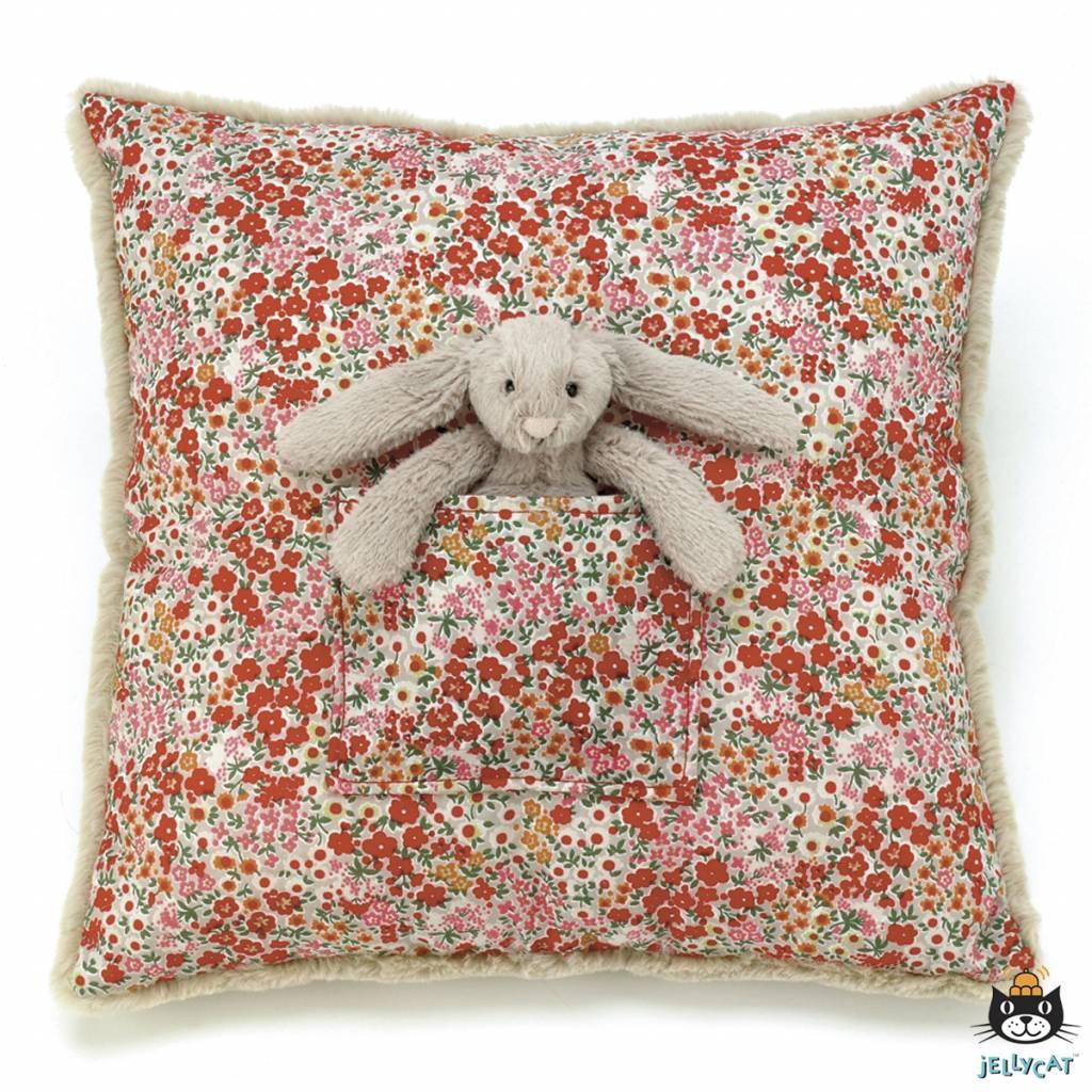 Jellycat Jellycat -  Blossom Beige Bunny Cushion