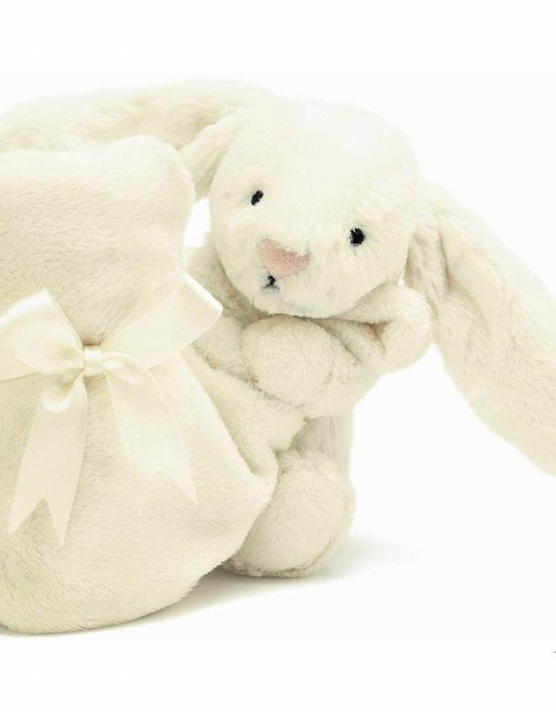 Jellycat Jellycat Bashful Bunny Blankie Cream