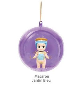Sonny Angel Sonny Angel Christmas Ornament Laduree Macaron Jardin Bleu