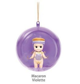Sonny Angel Sonny Angel Christmas Ornament Laduree Macaron Violette