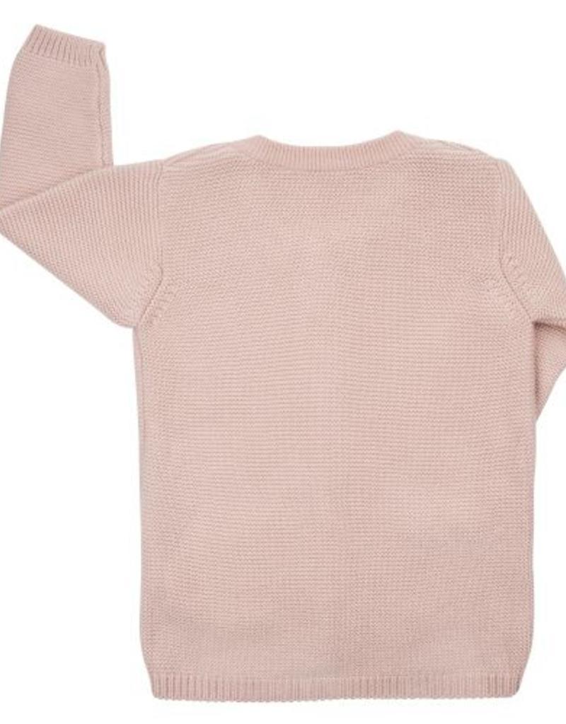 CarlijnQ CarlijnQ Knit Pink Cardigan long
