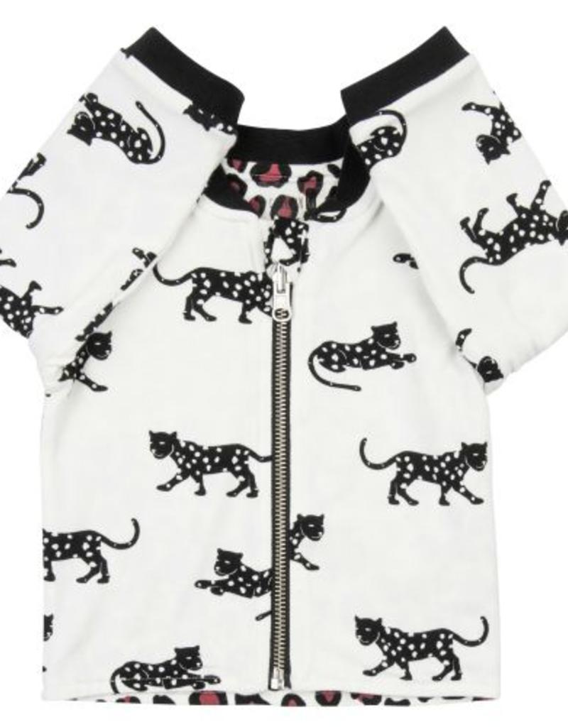 CarlijnQ CarlijnQ Happy Panther & Leopard reversible Jacket
