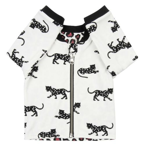 CarlijnQ CarlijnQ Happy Panther & Leopard reversible Jacket