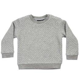CarlijnQ CarlijnQ Sweater Chunky Grey (Laatste! Maat 86/92)