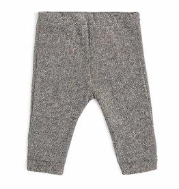 CarlijnQ CarlijnQ sweat pants zwart/wit gevoerd Knit