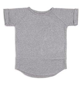 CarlijnQ CarlijnQ Tunic / long shirt grijs (Laatste! Maat 110/116)