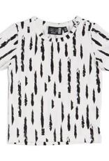 CarlijnQ CarlijnQ T-shirt Brush Black/off-white