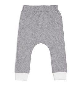 CarlijnQ CarlijnQ Sweatpants grey/off-white (Maat 110/116)
