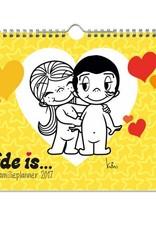 Liefde is... Familieplanner 2017 (Laatste!!)