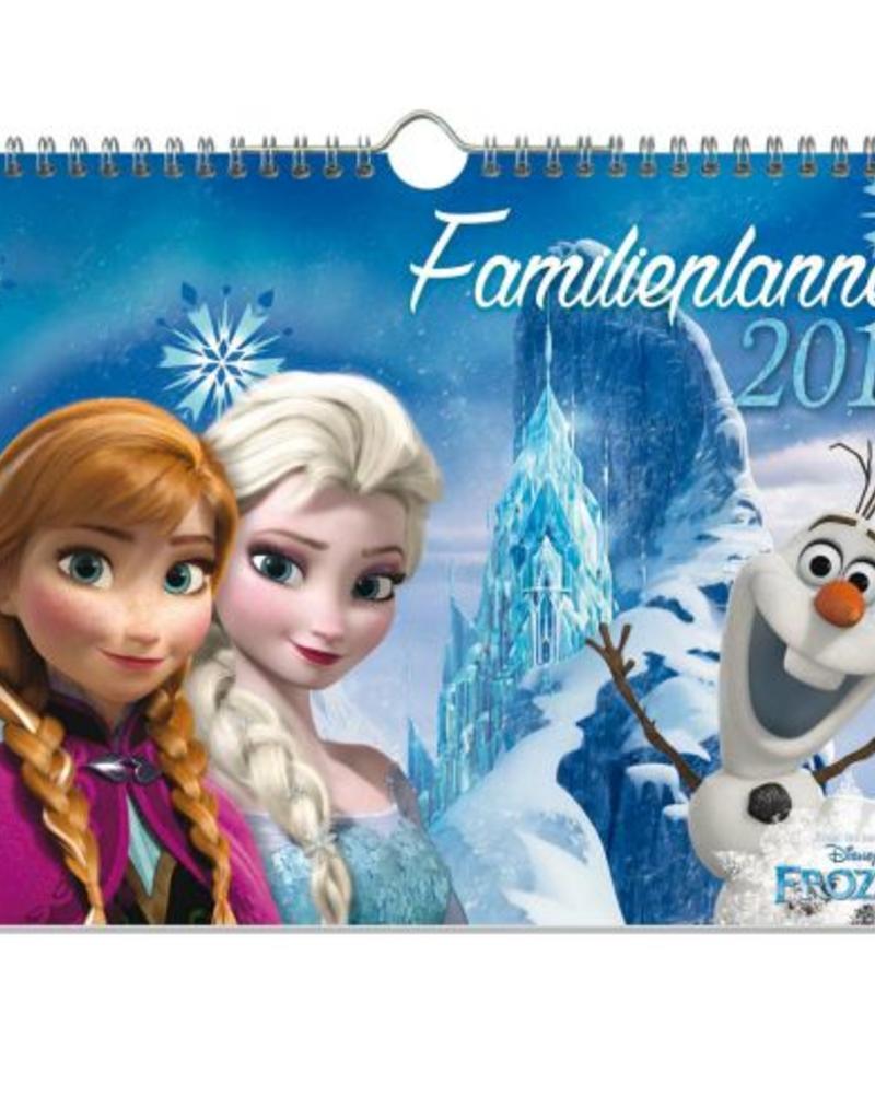 Frozen - Familieplanner 2017