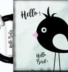 Hello Baby Zwart Wit Knisperboekje Met Rammelaar