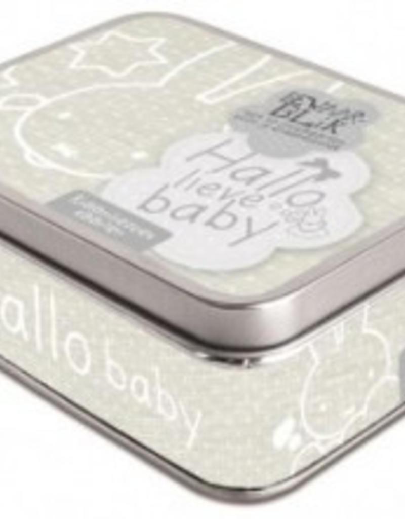 Nijntje Nijntje Hallo lieve Baby kraambezoek kaarten in blik