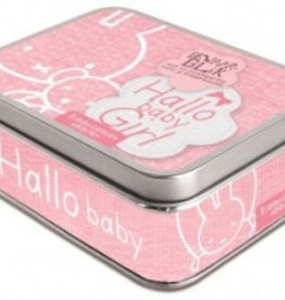 Nijntje Nijntje Hallo Baby Girl kraambezoek kaarten in blik