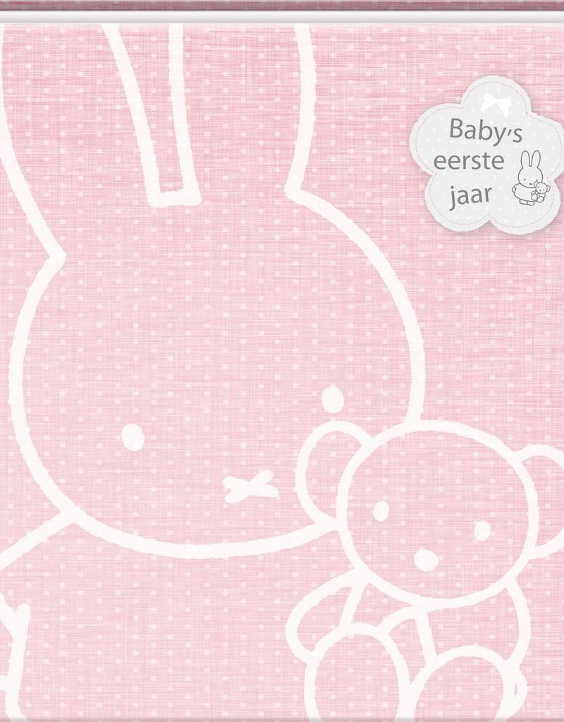 Nijntje Nijntje - Baby's eerste jaar roze