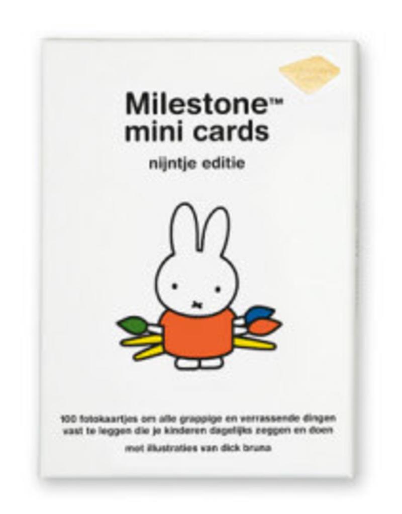 Milestone Cards Milestone Mini Cards Nijntje Editie NL