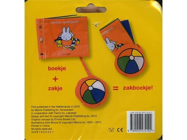 Nijntje Nijntje - Nijntjes Speelgoed zakboekje