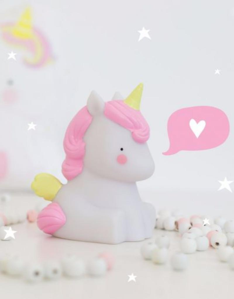 A Little Lovely Company  Little light: Unicorn