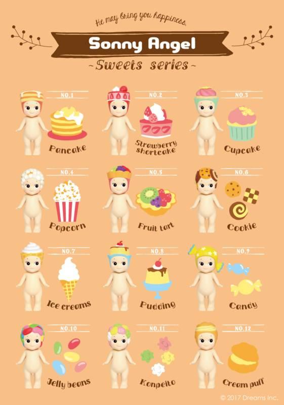 Sonny Angel Sonny Angel Sweets series Cream puff