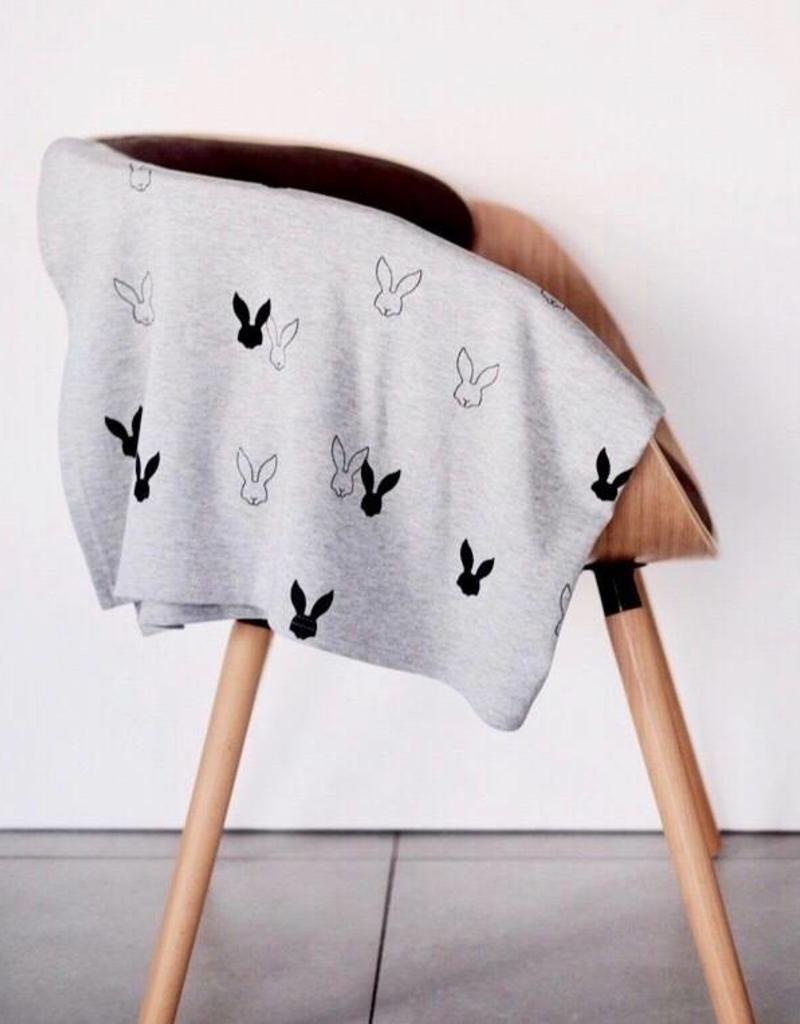 Deer One Deer One Bunny Love deken