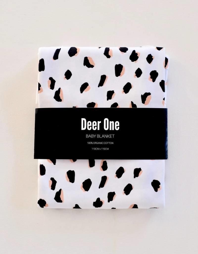 Deer One Deer One Painted Leopard deken