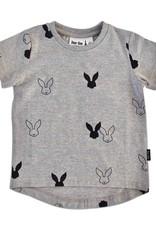Deer One Deer One Grijs Bunny Love T-shirt