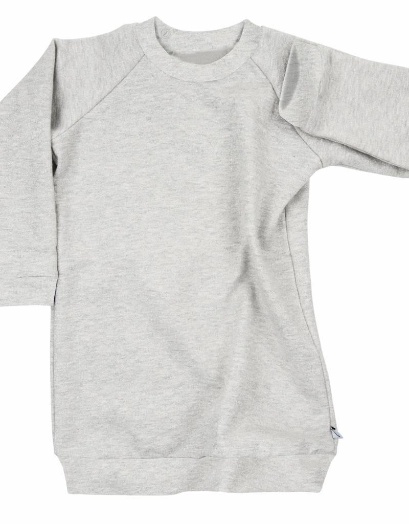 CarlijnQ CarlijnQ a splash of silver sweater jurk