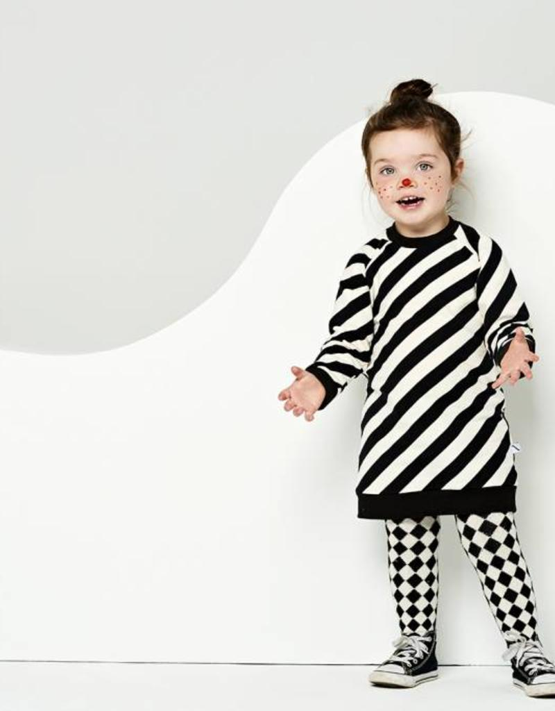 CarlijnQ CarlijnQ Electric zebra sweater jurk