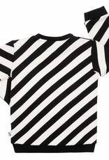 CarlijnQ CarlijnQ Electric zebra sweater (Maat 110/116 en 122/128)