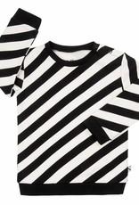 CarlijnQ CarlijnQ Electric zebra sweater (Laatste! Mt. 122/128)