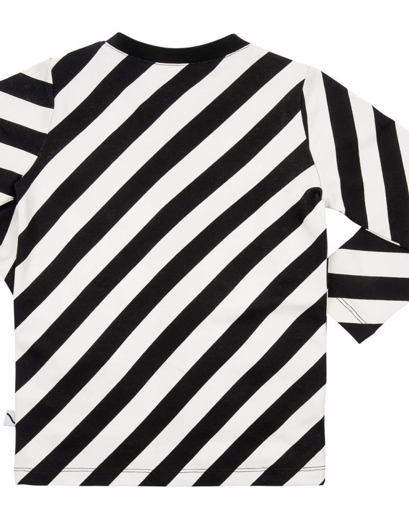 CarlijnQ CarlijnQ Electric zebra cardigan met zakken