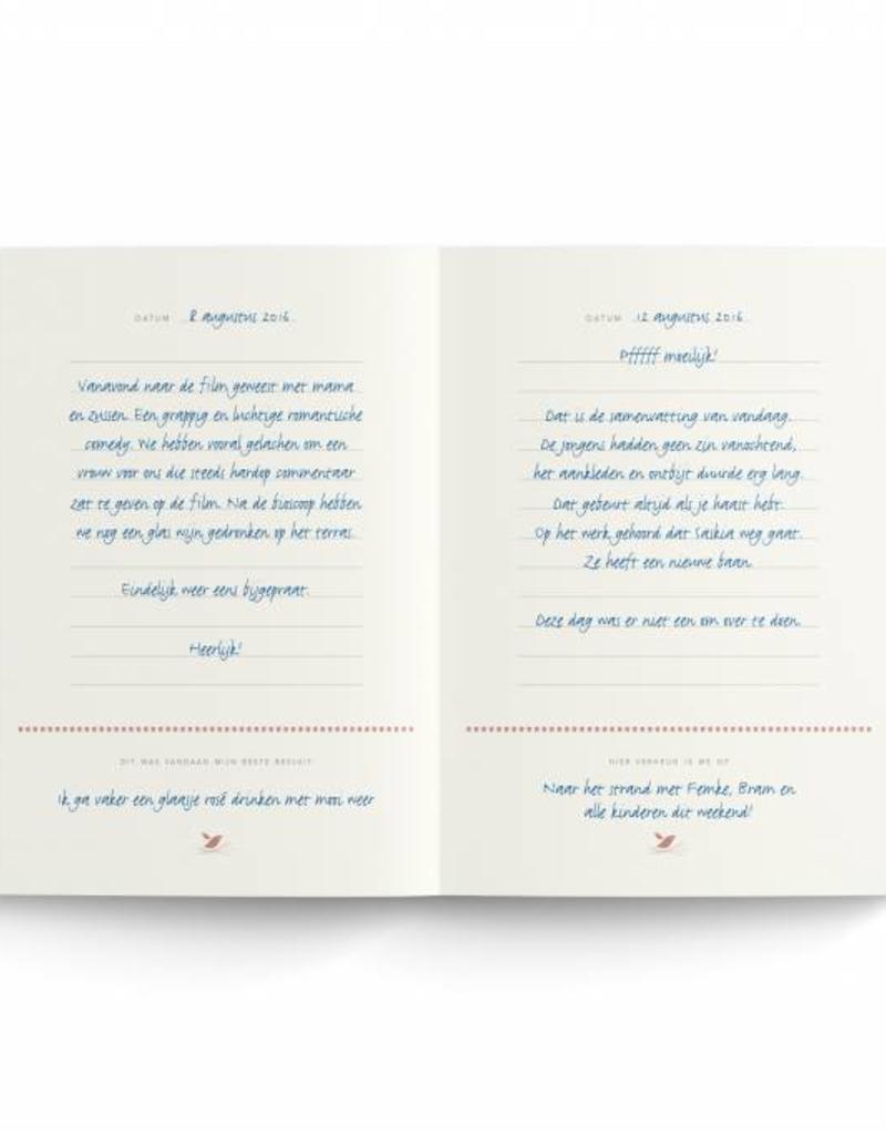 Elma van Vliet Dagboek voor grote en kleine herinneringen