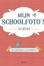 Uitgeverij Deltas Mijn schoolfoto's album rood
