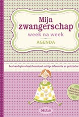 Uitgeverij Deltas Mijn zwangerschap week na week agenda