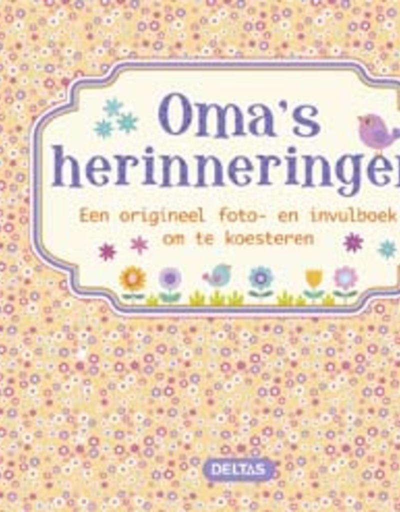 Uitgeverij Deltas Oma's herinneringen