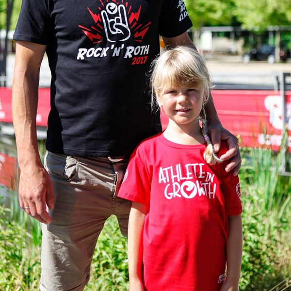 """Challenge Roth Challenge Roth Kids T-Shirt """"Athlete in Growth"""""""