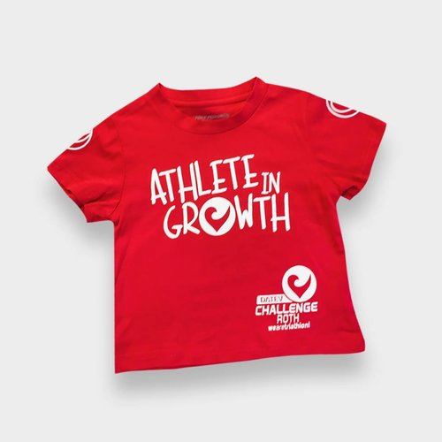"Challenge Roth T-Shirt ""Athlete in Growth"" Kids"