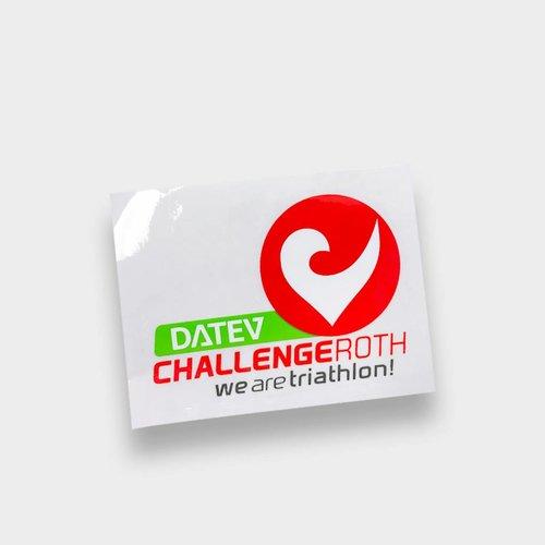 Challenge Roth Aufkleber klein