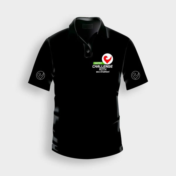 Challenge Roth Challenge Polo Shirt in Black