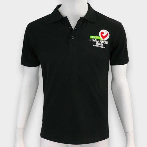 Challenge Roth Polo Shirt Schwarz
