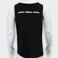 "Challenge Roth Challenge ""Heartbeat"" Tank Top in Black"