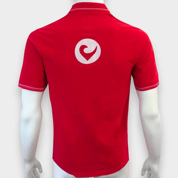 Challenge Roth Challenge Polo Shirt in Rot