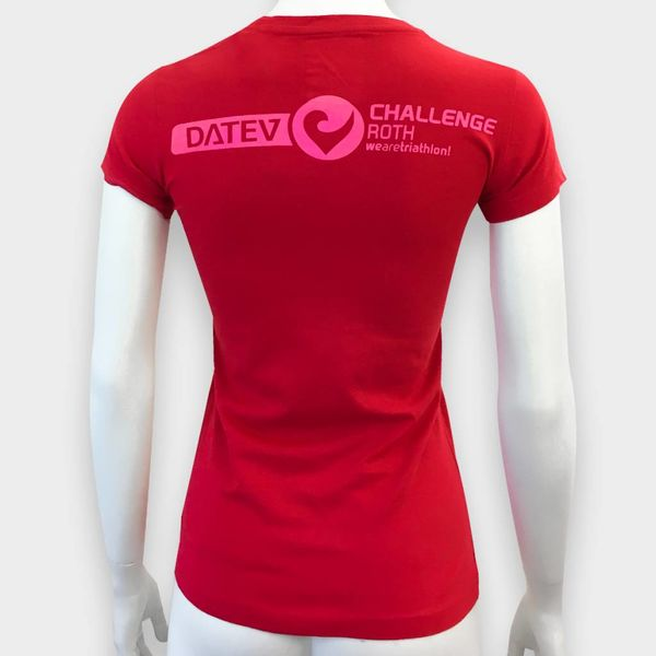 "Challenge Roth Challenge ""Challenge"" T-Shirt in Rot"