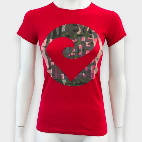 """Challenge Roth Challenge """"Challenge"""" T-Shirt in Rot"""