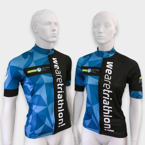 "RenéRosa Challenge Short Sleeve Trikot ""Performance"" Blau"