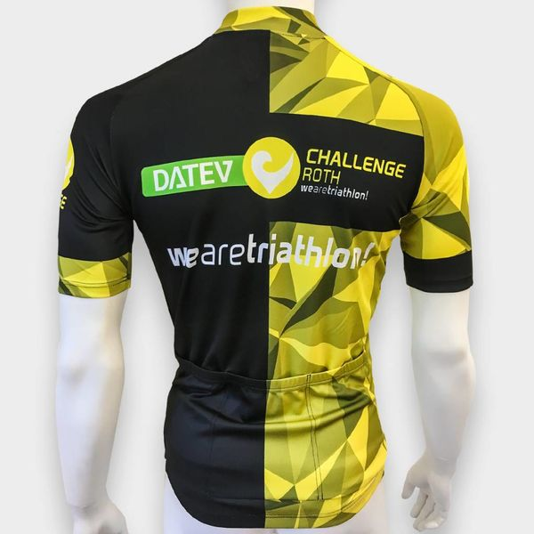 "RenéRosa Challenge Short Sleeve Trikot ""Performance"" Yellow"
