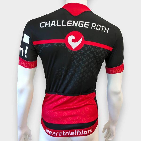 """RenéRosa Challenge Radtrikot """"ProSeries"""" in Schwarz und Rot"""
