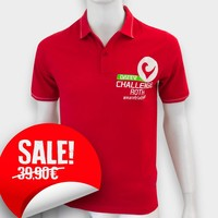 Challenge Roth Challenge Polo Shirt in Red